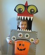 Robo Dino Homemade Costume