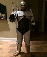 Homemade Robocop Costume