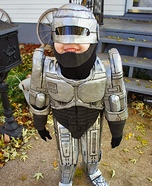 Robocop Kid's Homemade Costume