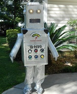 Creative DIY Robot Costume