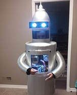 DIY Bender Robot Costume