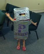 DIY Robot Halloween Costume for Boys