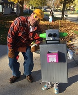 Robot and her Builder Homemade Costume