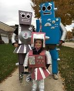 Robot Family Homemade Costume