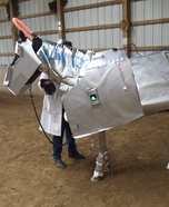 Robot Horse Homemade Costume
