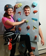 Rock Climbing Homemade Costume