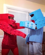 Rock Em Sock Em Robots Homemade Costume