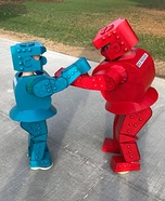 Rock 'Em Sock 'Em Robots Homemade Costume