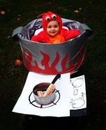 Rock Lobsta Costume