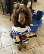 Rock on, Dawg Homemade Costume