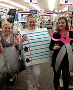 Group costume ideas - Rock Paper Scissors Halloween Costume