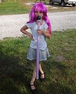 Rock Star Doll in a Box Homemade Costume