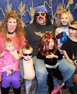 Rock Star Family Homemade Costume