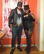 Rockabilly Batman and Pinup CatWoman Costume