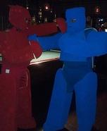 Rockem Sockem Robots DIY Costumes