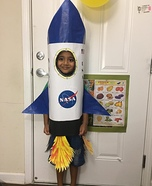 Rocket Homemade Costume