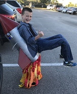 Rocket Man Homemade Costume