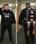 Rocket Man Homemade Costume