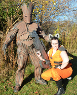 Rocket Raccoon & Groot Homemade Costume