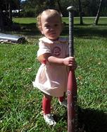 Rockford Peach Baby Costume