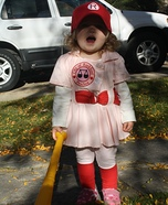 Rockford Peach Homemade Costume