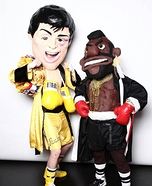 Rocky and Mr.T Homemade Costume