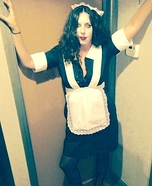Rocky Horror Picture Show Magenta Homemade Costume