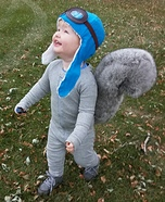 Rocky the Squirrel Homemade Costume