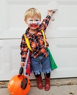 Rodeo Clown Homemade Costume