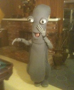 American Dad Roger the Alien hand made costume