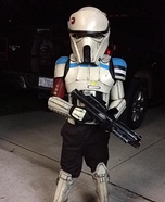 Rogue One Shoretrooper Homemade Costume
