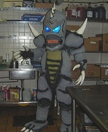 Rokzilla Homemade Costume