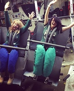 Roller Coaster Homemade Costume