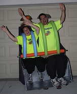 Roller Coaster Ride Homemade Costume