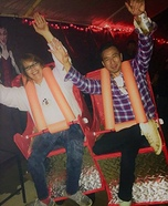 Roller Coaster Riders Homemade Costume