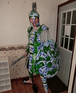 Rolling Rock Spartan Homemade Costume