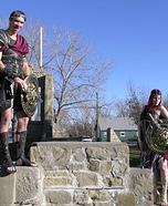 Roman Gladiators Homemade Costume