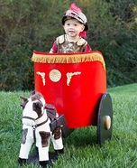 DIY baby costume ideas: Roman Soldier Baby Costume