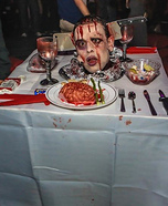 Romantic Halloween Dinner for Two Costume