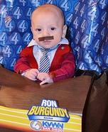 Ron Burgundy Homemade Costume