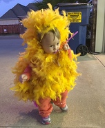 Rooster Baby Homemade Costume