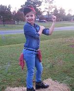 Rosie the Riveter Halloween Costume Idea