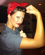 Creative DIY Costume Ideas for Women - Rosie the Riveter Costume