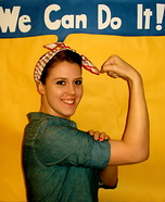 Halloween costume ideas for girls: Rosie the Riveter Halloween Costume