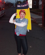 Rosie the Riveter Poster Costume