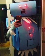 Rosie the Robot Homemade Costume
