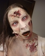 Rotted Zombie Homemade Costume
