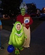 DIY Roz from Monsters Inc Costume