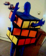 Rubix Cube Homemade Costume