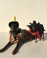 Ruby Rhod Dogs Homemade Costume